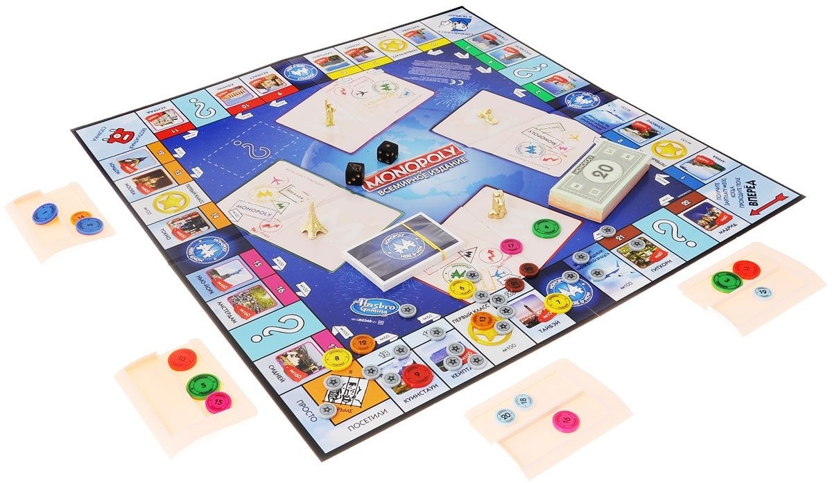 Настольная игра Монополия: Всемирное издание (Hasbro)
