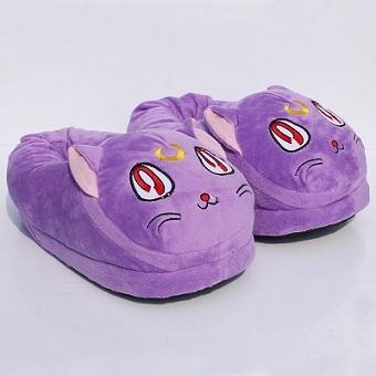 Slippers Plush Sailor Moon Luna