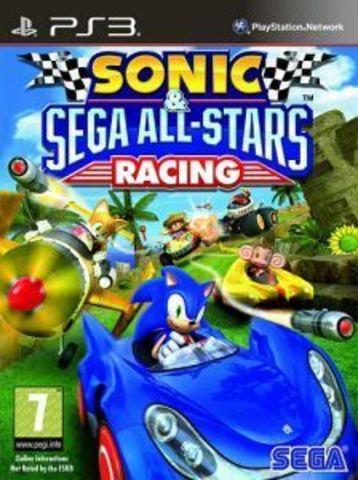 Sonic & All-Stars Racing (PS3, английская версия)
