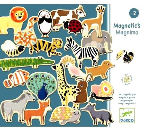 Деревянные магниты Зоопарк, 36 деталей Djeco