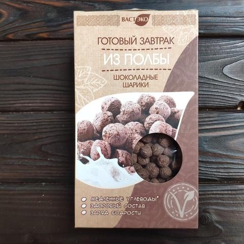 Фотография Готовый завтрак из полбы. Шоколадные шарики, 200г купить в магазине Афлора