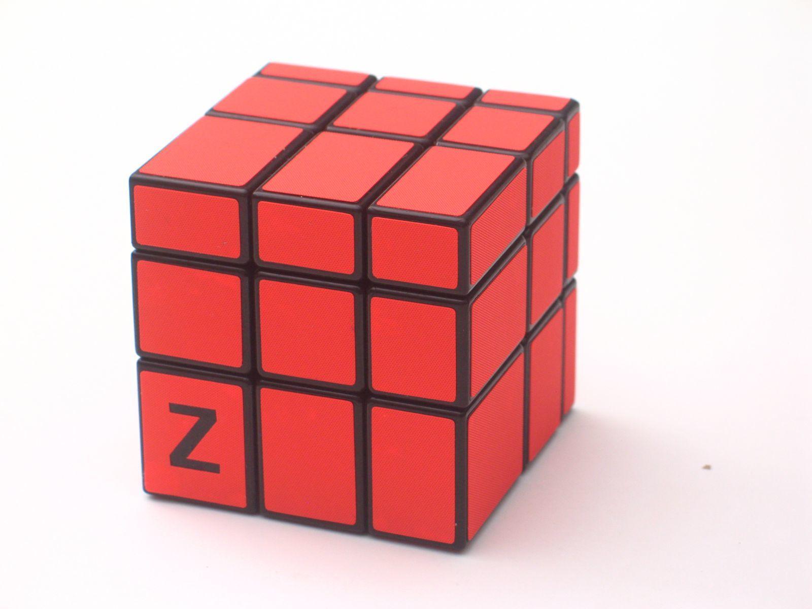 Z-Cube 3x3x3 Зеркальный куб Красный