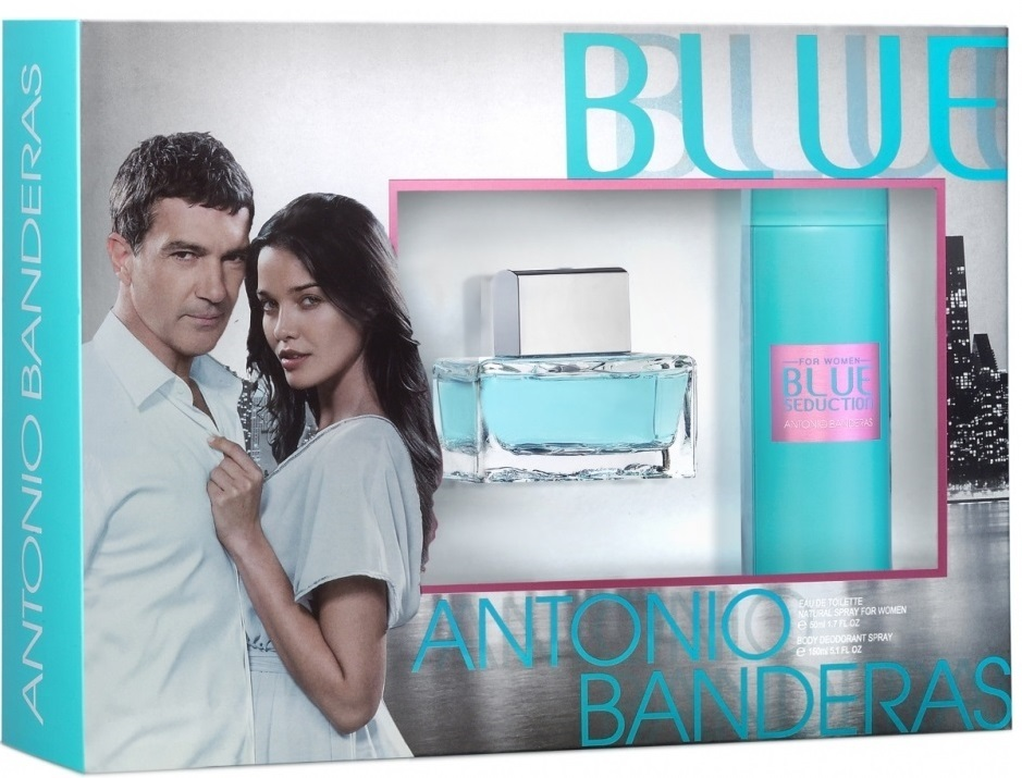 Antonio Banderas Blue Seduction for Women Gift Set
