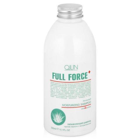 OLLIN full force увлажняющий шампунь против перхоти с экстрактом алоэ 300мл