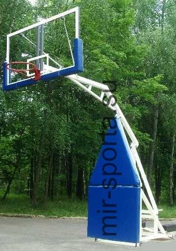 Мобильная баскетбольная стойка