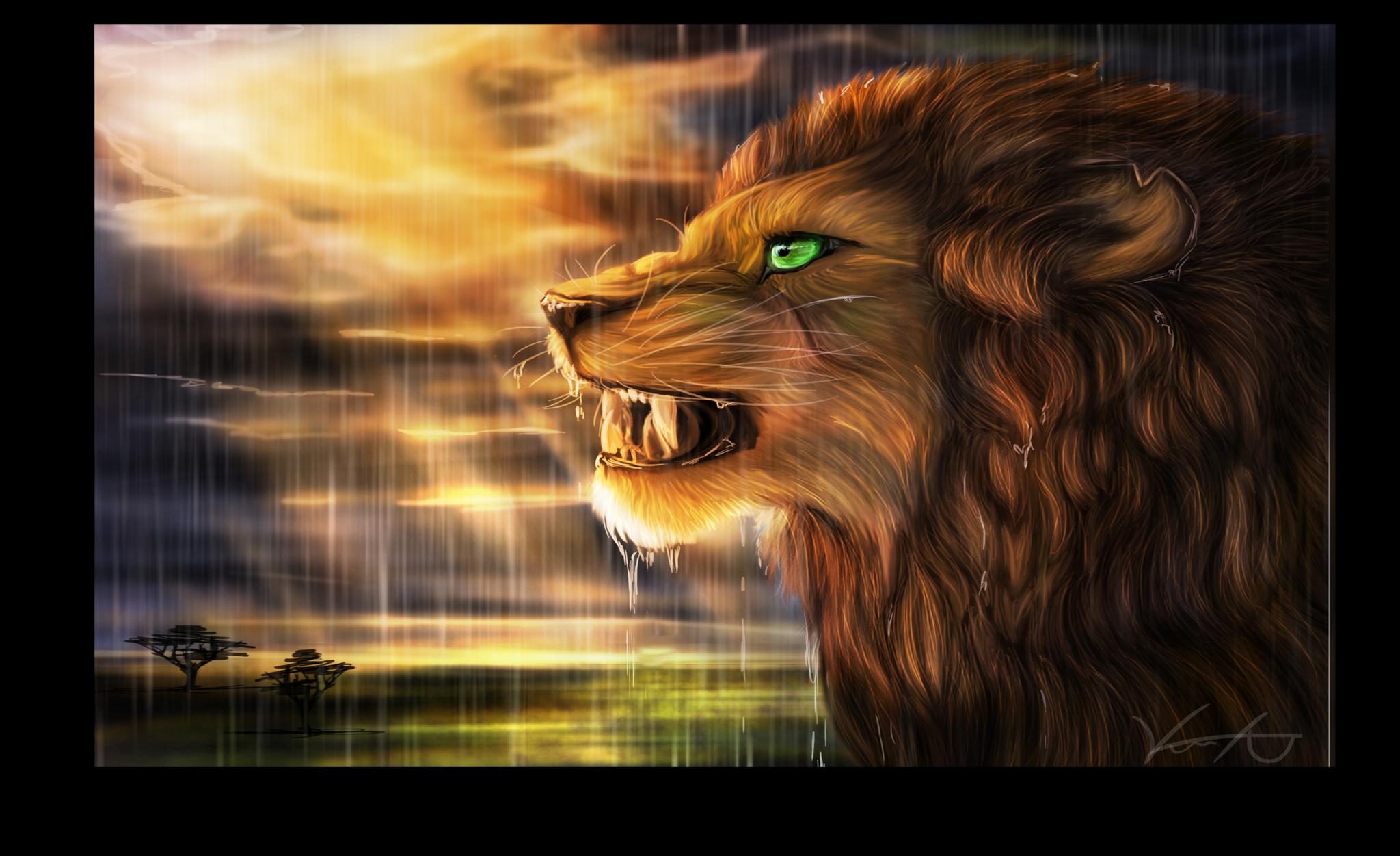"""Постеры Постер """"Зеленоглазый лев"""" п133.png"""