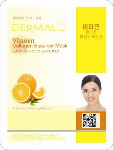 Маска для лица Dermal (витамины и коллаген)