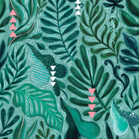 Тропические джунгли