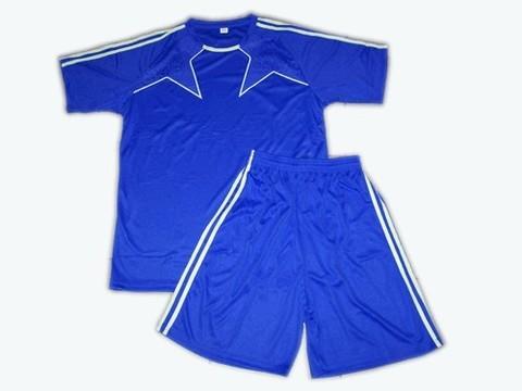 Форма футбольная. Цвет синий. Размер 48. :(Ке162-48):