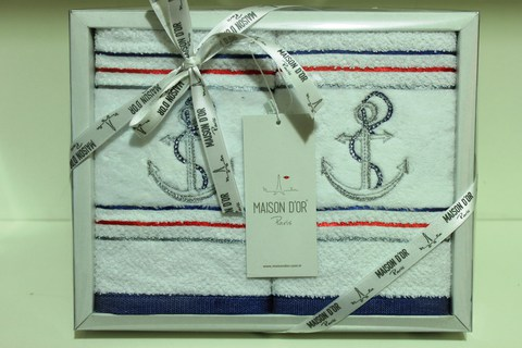 Набор салфеток MARINA - МАРИНА  40х60 Maison Dor (Турция)