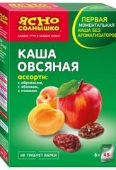 """Каша овсяная """"Ясно солнышко"""" абрикос, яблоко, изюм 270г"""