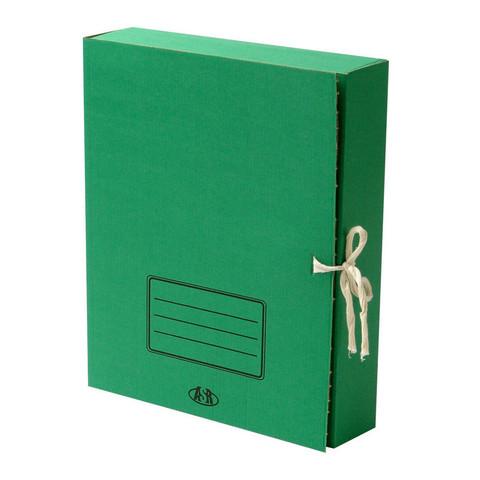 Короб архивный Attache гофрокартон в ассортименте 252x78x326 мм