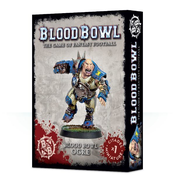 Blood Bowl Ogre. Коробка