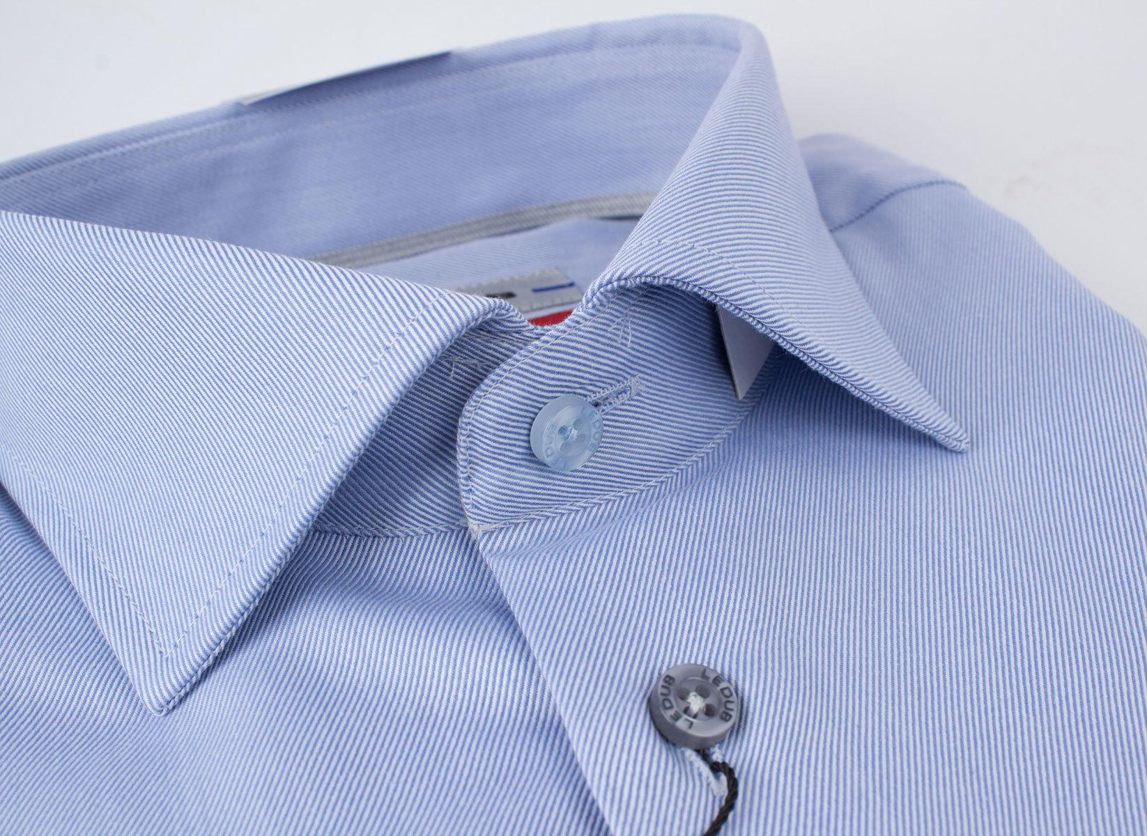 Рубашка Ledub slim fit 0135516_130-250-000-SF-Blue
