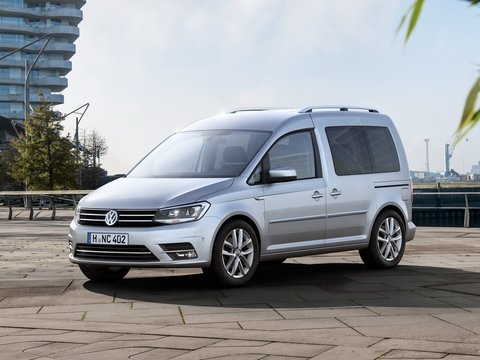 Чехлы на Volkswagen Caddy 2015–2020 г.в.