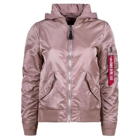 Бомбер Alpha Industries L-2B Natus W Mauve (Розовый)