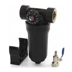 """Водоочиститель PS 503 BK-BK 34 (сетчатый фильтр д/хол.воды с полифосфатом 3/4""""), Райфил"""