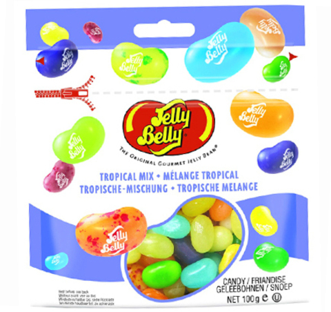 Конфеты Jelly Belly «Тропическое Микс» (70 гр.)