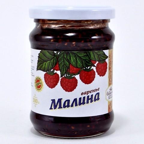 Варенье из малины Ягода сибирская, 300г