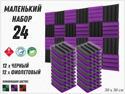 AURA  300 violet/black  24  pcs