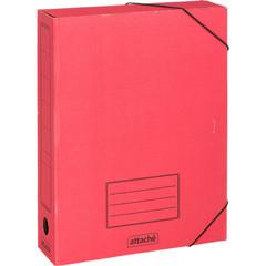 Короб архивный Attache гофрокартон в ассортименте 252x78x326 на резинках