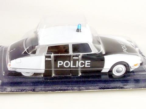 Citroen DS21 Police France 1:43 DeAgostini World's Police Car #27