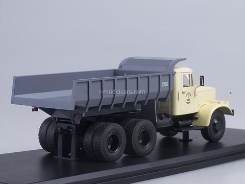 KRAZ-256B1 Tipper beige-gray 1:43 Start Scale Models (SSM)