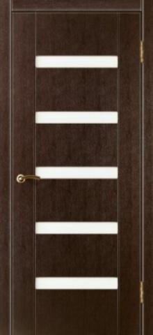 Дверь Фаворит (стекло матовое) (венге, остекленная ПВХ), фабрика Зодчий