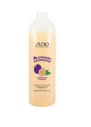 Шампунь для всех типов волос Маракуйя,Kapous Aromatic,1000 мл