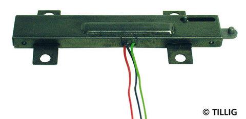 Электропривод для, стрелок на насыпи