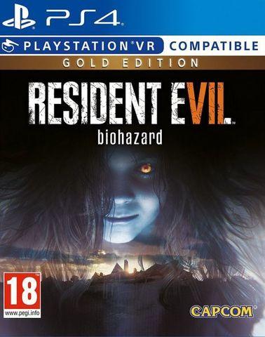 Resident Evil 7: Biohazard - Gold Edition (PS4, поддержка VR, русские субтитры)