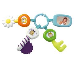 Smoby Многофункциональная игрушка-брелок с ключиками Cotoons (211300)