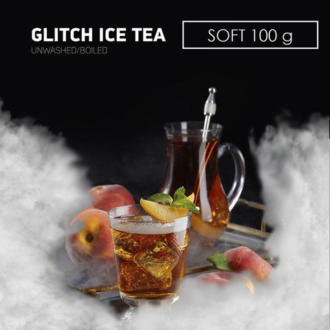 Табак Dark Side 100 г SOFT Glitch Ice Tea