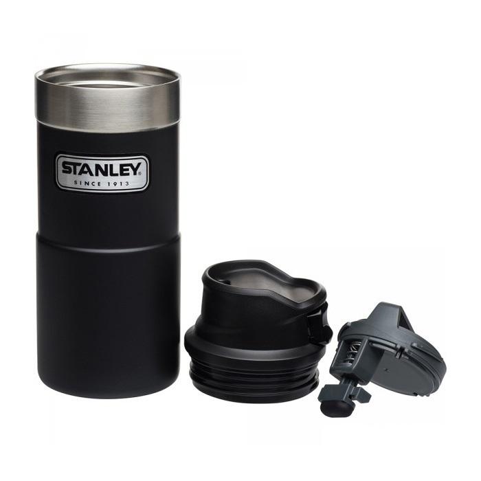 Термокружка Stanley Classic 0.35L One hand 2.0 зеленая