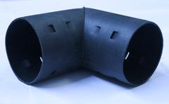 Отвод для дренажных гофрированных труб d=63мм 90 гр.