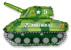 F Мини-фигура Танк (зеленый), 14