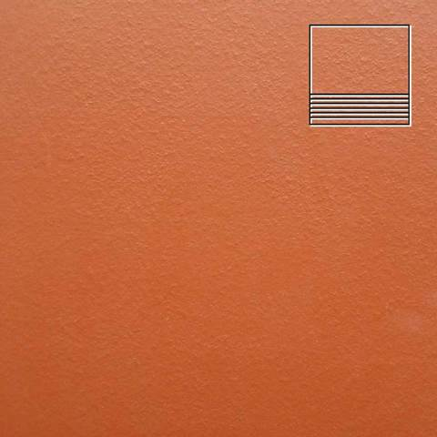 Ceramika Paradyz - Natural Rosa Duro, 300x300x11, артикул 32 - Ступень простая структурная