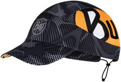 Спортивная кепка для бега Buff Pack Run Cap Ape-X Black