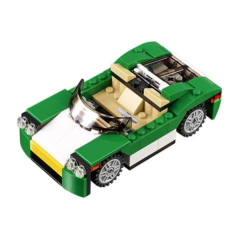 LEGO Creator: Зелёный кабриолет 31056 — Green Cruiser — Лего Креатор Создатель