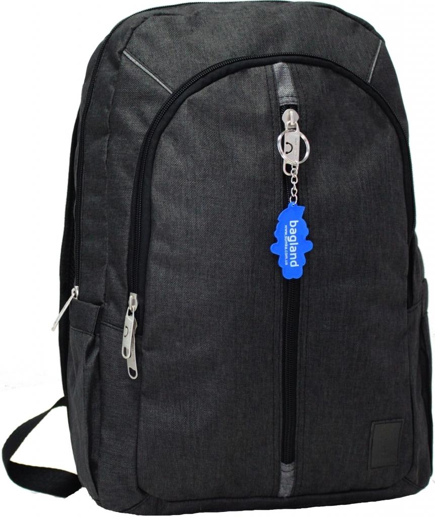 Рюкзаки для ноутбука Рюкзак Bagland Milano 14 л. Чёрный/серый (0011569) 93978cb97ec047e348cad39ee701fe8c.JPG