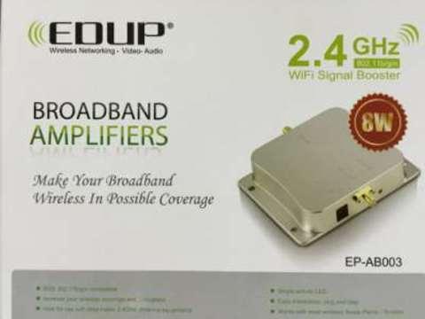 EDUP EP-AB003 Усилитель Wi-Fi сигнала бустер 2400-2500МГц 8W
