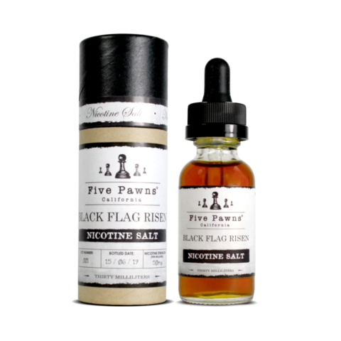 Five Pawns Five Pawns: Original. Жидкость Black Flag Risen Salt