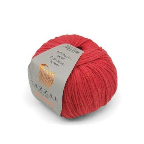 Пряжа Gazzal Jeans 1137 красный
