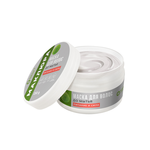 МДП Маска для волос до мытья Питание и сила, 250г