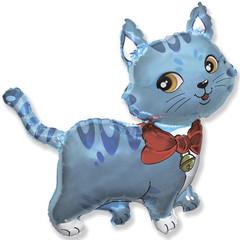 F Мини фигура Милый котенок (голубой) / Sweet cat (14