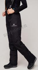 Горнолыжные брюки Nordski Extreme Black женские с высокой спинкой