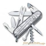 Нож перочинный Victorinox Climber 1.3703.T7 91мм 14 функций полупрозрачный серебристый