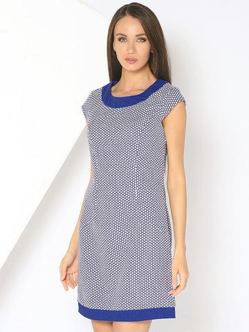 WD2517F-2 платье женское, синее