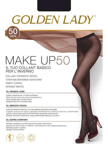 Колготки Make Up 50 Golden Lady