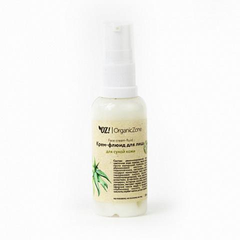Крем-флюид для лица, для сухой и чувствительной кожи OZ!